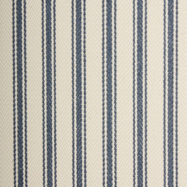 Ticking Stripe - Blue