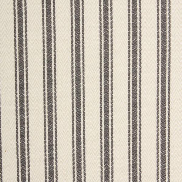 Ticking Stripe - Grey 1