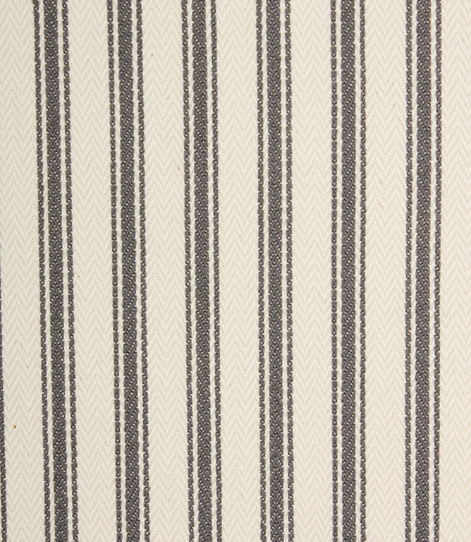 Ticking Stripe - Grey 1