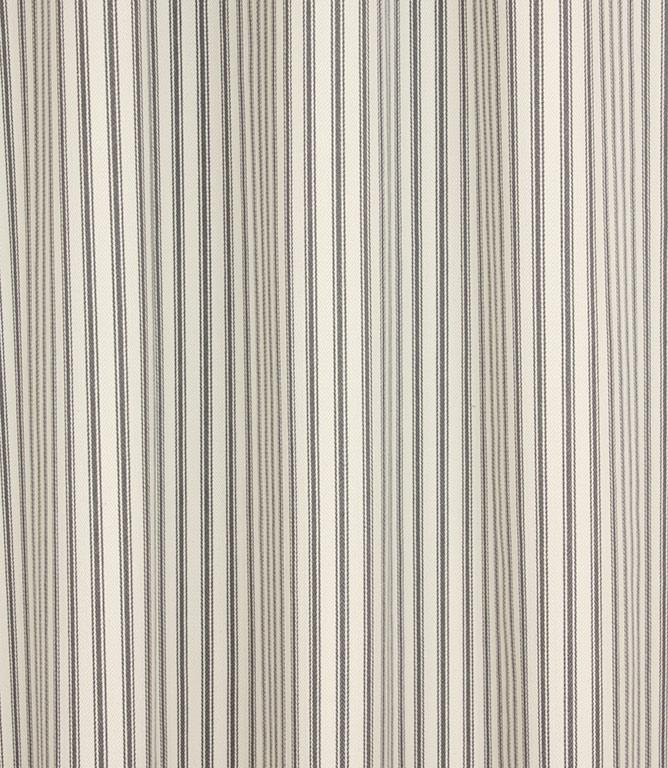 Ticking Stripe - Grey 2