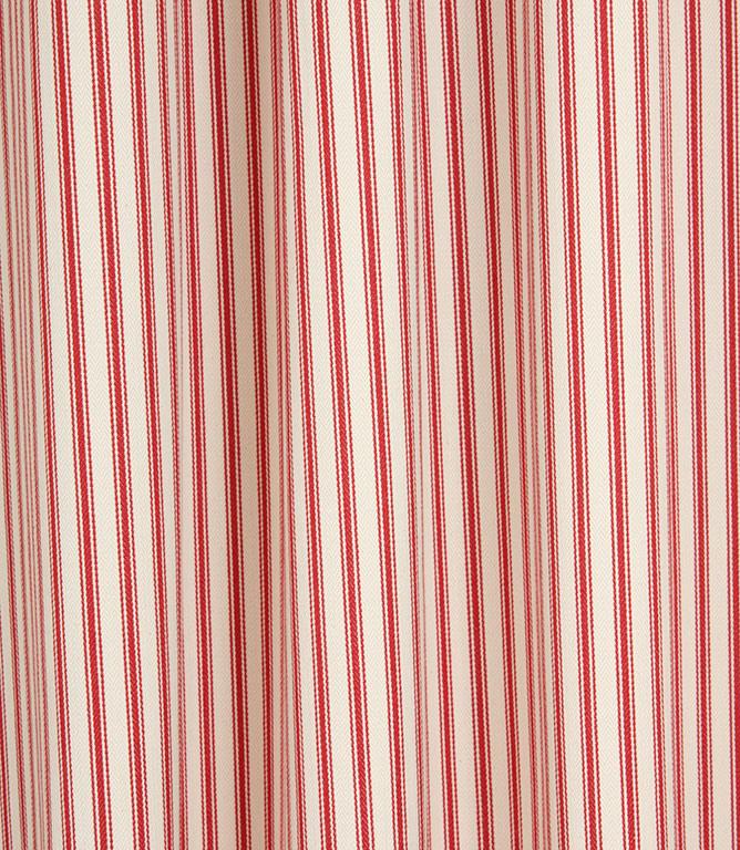 Ticking Stripe - Red 1