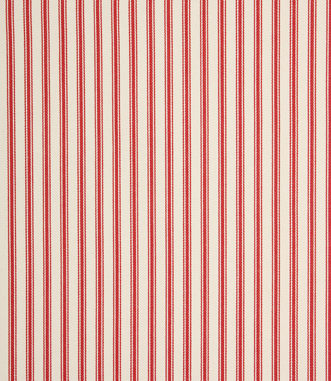 Ticking Stripe - Red 2