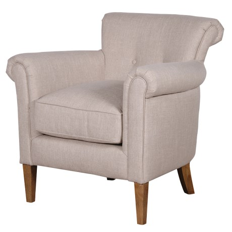 Linen Cosy Chair