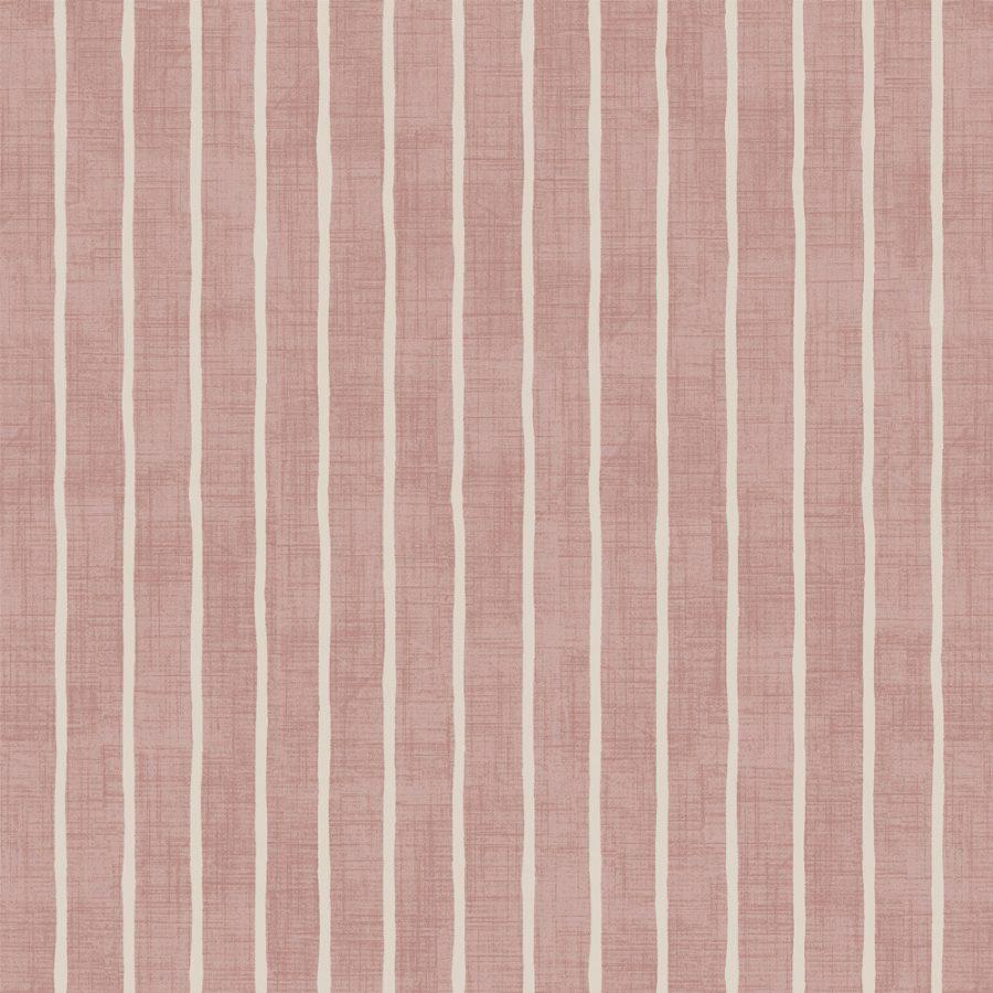Pencil Stripe - Rose